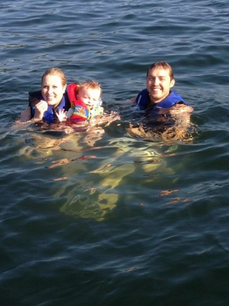 Lake swimming! My favorite